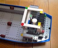 コンテナ船操舵室