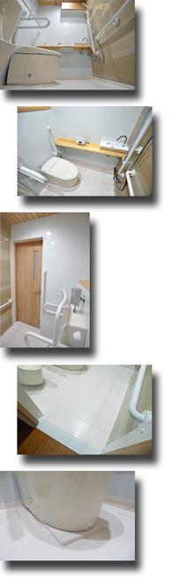 流せる樹脂床トイレ
